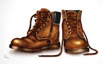 die alten Schuhe by Karin Stein
