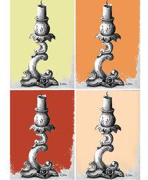 Kerzenständer Serie 03 von Karin Stein
