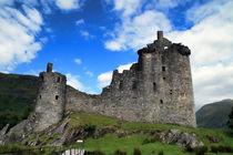 Kilchurn Castle by Anja Uhlig