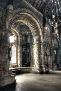 mystische Kirche 3 by Anja Uhlig