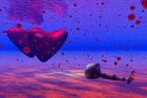 Versinkende Herzen von Michael Jaeger