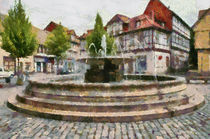 Mathildenbrunnen by Michael Jaeger