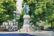 GutsMuths Denkmal by Michael Jaeger