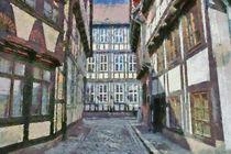 Quedlinburger Gasse by Michael Jaeger