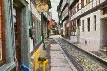Quedlinburger Strassen by Michael Jaeger