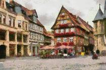 Quedlinburger Marktplatz by Michael Jaeger