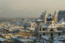 Salzburg am Nachmittag von Franziska Giga Maria