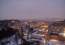 Salzburg nach Sonnenuntergang von Franziska Giga Maria