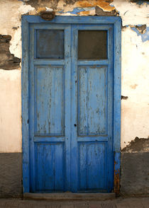 die blaue Tür von Franziska Giga Maria