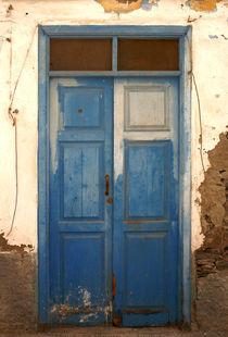 Blaue Tür von Franziska Giga Maria