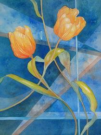 Zwei Tulpen von Kerstin Birk
