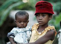Mädchen auf Madagaskar von triviart