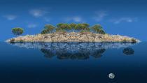 Spiegelinsel III by triviart