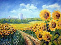 Sonnenblumen by Karin Müller