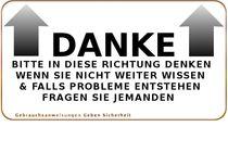 Danke-Schild von andreaengels
