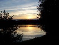 Abendstimmung am See in Tannenhausen, Aurich by petra ristau