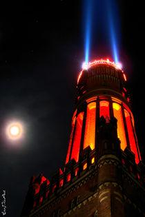 Weihnachts - Wasserturm von Rene Müller