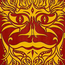 kundoroh gold gallery mandala by Peter Barreda
