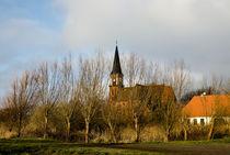 Kirche von Wustrow von Jakob Wilden