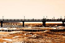 Zingster Seebrücke von Jakob Wilden
