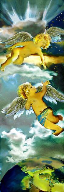 Zwei Engel im Himmel von artesigno