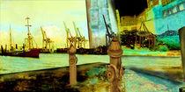 Erwachen am Hafen by artesigno