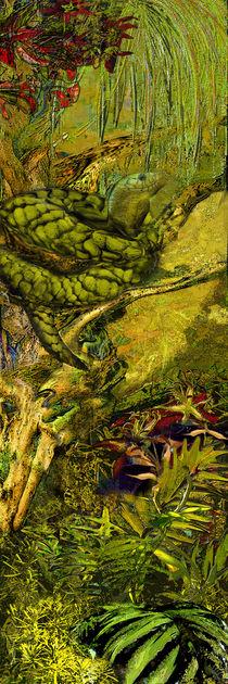 Schlange im Baum by artesigno