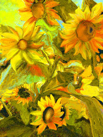 sunflowers by artesigno