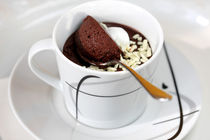 Cardamom-Coffee-Cup With Mousse  by lizcollet