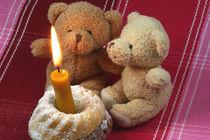 Bärige Geburtstagsgrüße mit Guglhupf von lizcollet