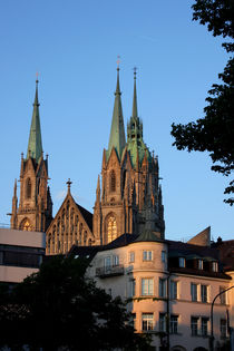 Paulskirche im Abendlicht by lizcollet