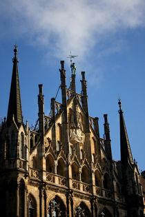 Turmwächter am Neuen Rathaus in München von lizcollet