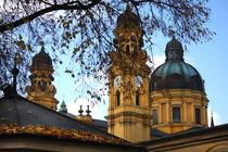 Sankt Kajetan Kirche in München - Theatinerkirche von lizcollet