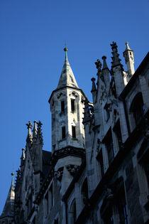 Türmchen am Neuen Rathaus in München von lizcollet