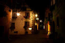 Riquewihr bei Nacht | Riquewihr at Night by lizcollet