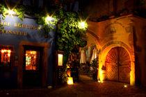 Nachts in Riquewihr by lizcollet