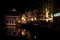 Nächtliches Strasbourg  von lizcollet