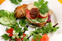 Chicken Wellness Burger by lizcollet