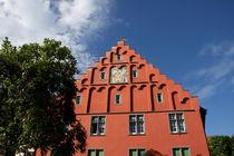 Historische Fassade in Meersburg am Bodensee von lizcollet