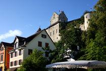 Burg Meersburg über dem Bodensee by lizcollet