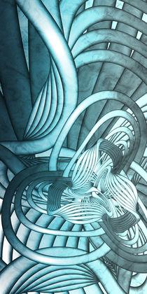Silver-steel-weaver von Yvonne Fido