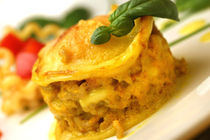 Lasagne mit gelbem Paprika und Safran by lizcollet