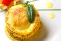 Lasagne mit Chicken und gelbem Paprika by lizcollet