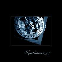 The One True Blue Compass von lizcollet