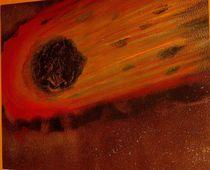 Schwarzer Komet von asart4you