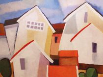 Häuser im Sommerwind by Lutz Baar