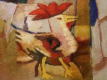 Rooster by Lutz Baar