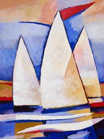 Segelsommer - Summer Sailing von Lutz Baar