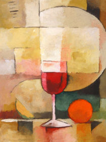 Ein Glas Rotwein - Red Wine by Lutz Baar