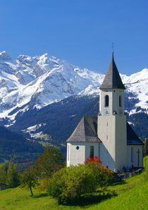 Kirche in den Bergen by Johannes Netzer